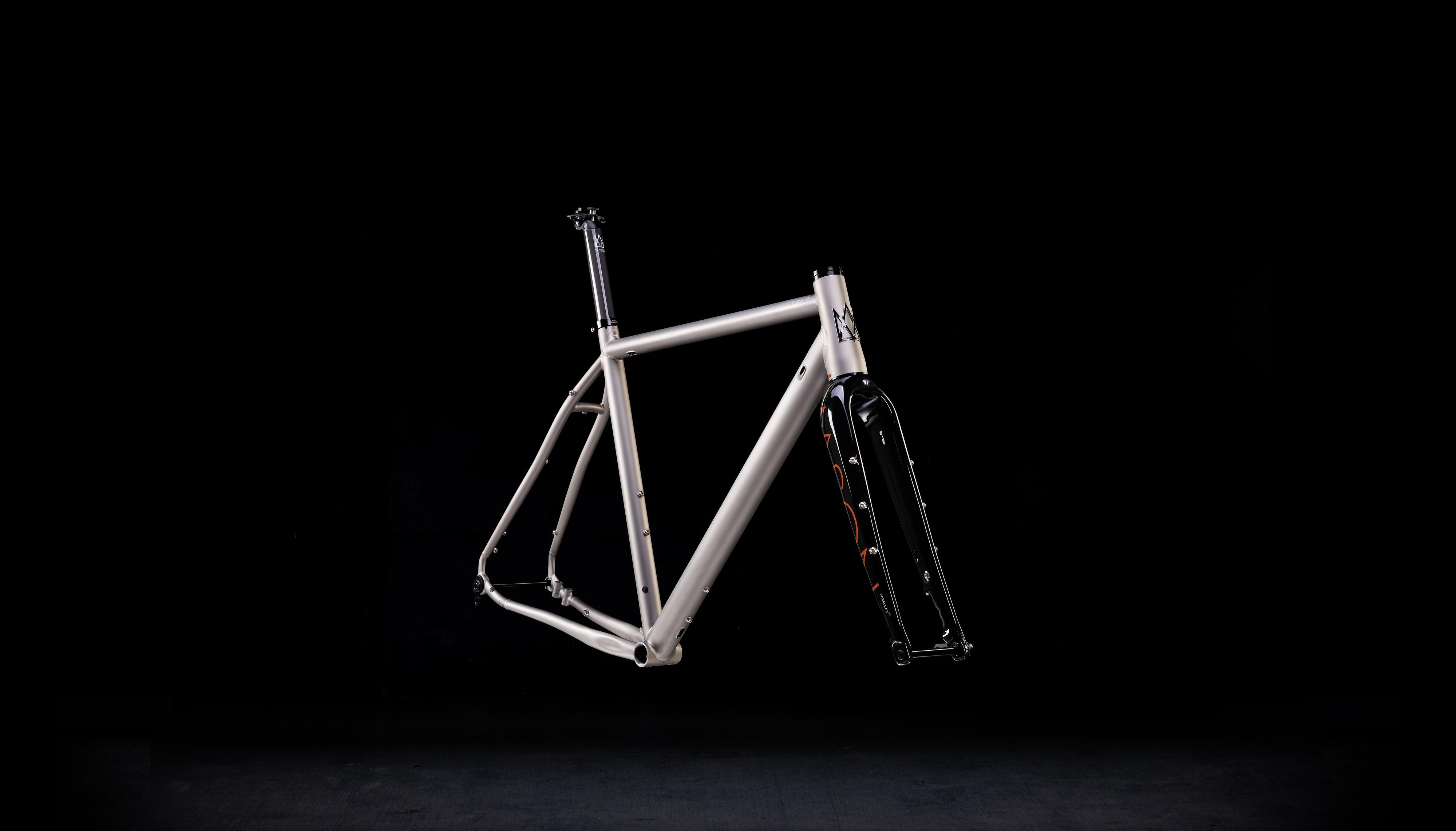 Ti Cycles titanium handlebar custom bend narrow light
